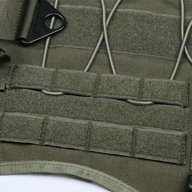 EXCELLENT ELITE SPANKER Tactical Battle Dog Clothes Suit Military Outdoor Training Molle Vest Harness Pets Hunting Accessories 5