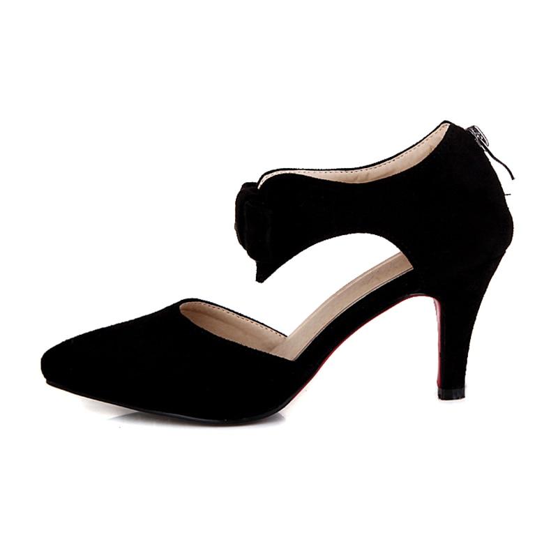 KARINLUNA 2018 pointed toe large size 33-43 sweet bow women shoes thin high  heels pumps bride wedding shoes woman - aliexpress.com - imall.com 5d99f120fadc
