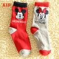 Calidad Calcetines de Los Niños Minnie Mickey Calcetines Para Niños Niña Niño Niños Superman Sokken Bebé Calcetín Meia KD423