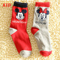Quality Kids Socks Minnie Mickey Socks For Kids Girl Boy Meia Children Superman Sokken Baby Sock KD423