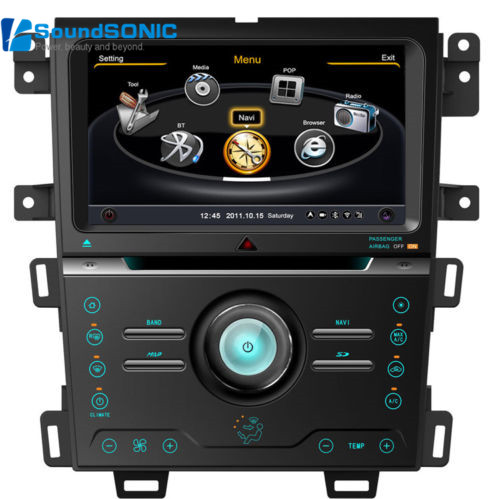 Car Accessories Auto Spare Parts For Ford Edge With Dvd Gps Touch Screen Monitor S Media