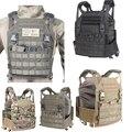 Military tactical battlefield vest molle army JPC wear-resistant 1050D nylon paintball gun vest gilet militaire colete tatico