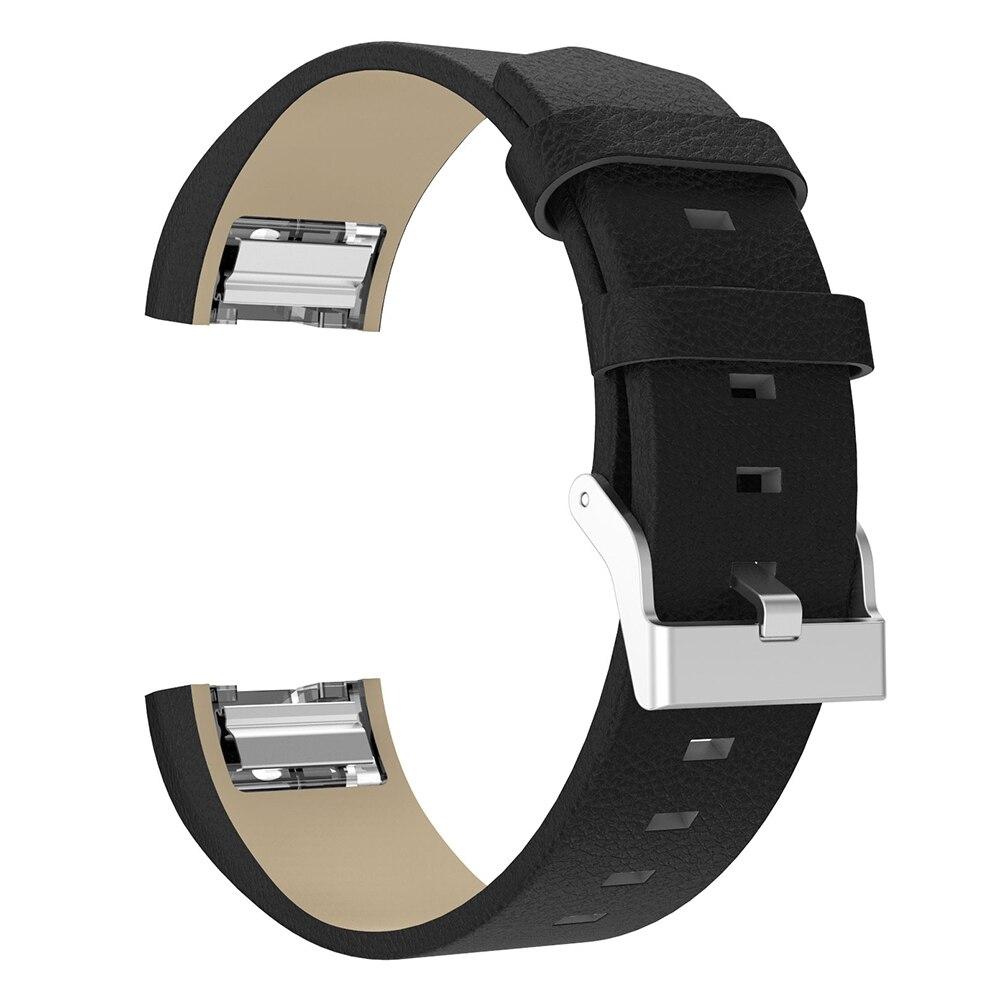 Сменный кожаный ремешок для fitbit charge 2 смарт часов сменный