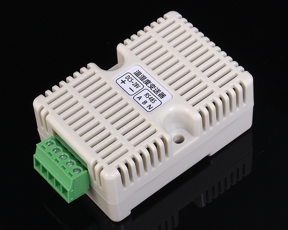 RS485 SHT20 Temperature Humidity Transmitter Acquisition Module Transducer Modbus-RTU Optocoupler Isolation Long Distance Sensor zigbee cc2530 dht11 pcb board design temperature and humidity acquisition vb display upper computer finished graduation