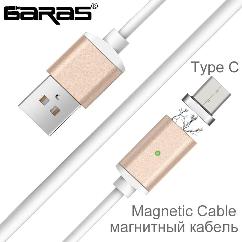 137.11руб. 34% СКИДКА|Магнитный кабель GARAS usb type C USB C/type C адаптер для быстрой зарядки Магнитный Дата кабель для мобильных телефонов кабель type C|cable for|phone cable|mobile phone cables - AliExpress