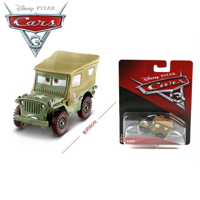 Tienda Online 1:55 original Disney Pixar coches 3 Sarge modelos de ...