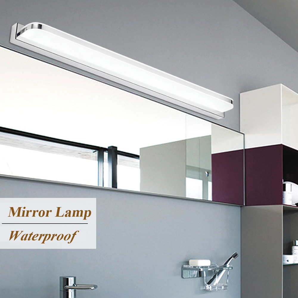 Modern Style LED Wall Lamp 3W/ 9W/ 12W AC90-260V Bathroom Light Wall Mounted LED Mirror Wall Light Update 2835 LED Chips modern bathroom led mirror light 520 80 75mm 90 260v 12w 4 heads aluminum acryl led wall sconce led bed lamp 100% quality guaran