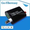 1 Canais (Transceiver/Multiplexer) De Fibra Óptica Video Converter mini 1 Conversor De Vídeo de Fibra Óptica de vídeo Digital