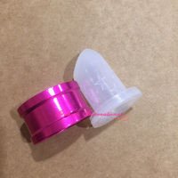 Three Piece Suit 1pcs Star Embossed Silicone Lipstick Mould With 1pcs Metal Ring And 1pcs Holder