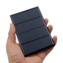 12V 1.5W GÜNEŞ PANELI taşınabilir Mini Sunpower DIY modülü paneli sistemi için güneş lamba pili oyuncaklar telefon şarj güneş hücreleri