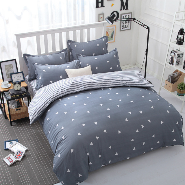 Star Bedding Set in Gray