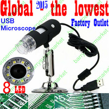 Buy online 800X 8-LED USB Microscope Endoscope Magnifier Digital Video Camera