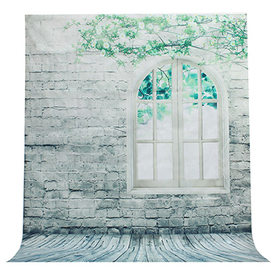 2.0*1.5 m Fresco Tela Backdroph Bem Árvore Vinil Janela de Parede Tema Fotografia de Moda Fotografia Criança