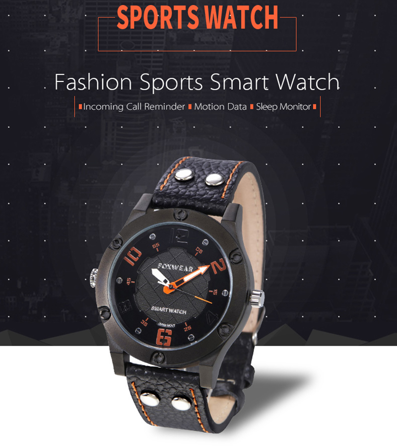 Smart Bluetooth 3.0 MP3 Watch With Pedometer Sleep Monitor Calorie Consumption Via Mobile APP for Android 4.3 IOS 7.0 above