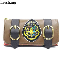 Leeshang fashion wristband clutch wallets harry potter hogwarts castle crest envelope satchel fold wallet purse with.jpg 250x250