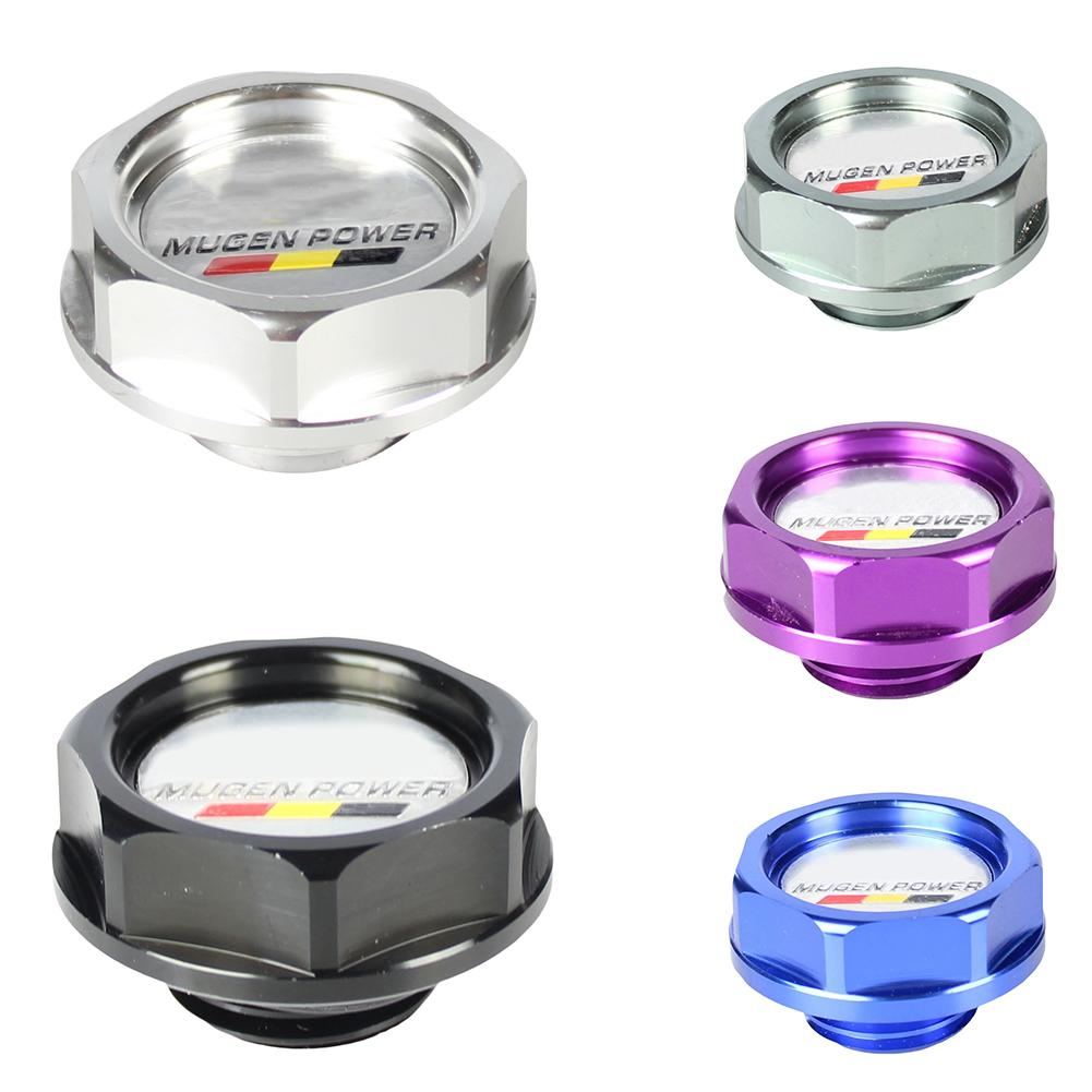 hight resolution of car vehicle oil cap oil fuel filter racing engine tank cover for honda civic