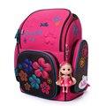 Rusia CALIENTE de Alta calidad 3D para niños de 4-12 años de envío muñeca estudiantes de Gran capacidad de bolsa de la escuela niña niño encantador mochila de viaje