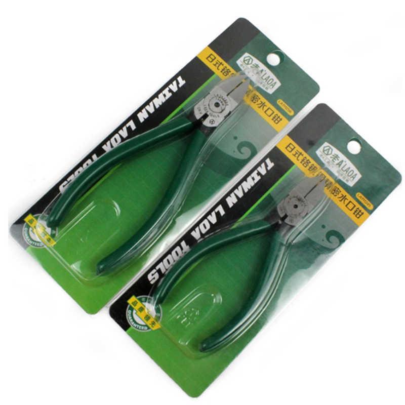 LAOA 아울렛 집게 펜치 CR-V 대각선 펜치 전기 와이어 커팅 사이드 스ps 플러시 플라이어