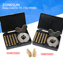 heat stamping alphabet set heat press machine FR900 FR770 alphabet set date coding machine letter numbers brass number for FR770