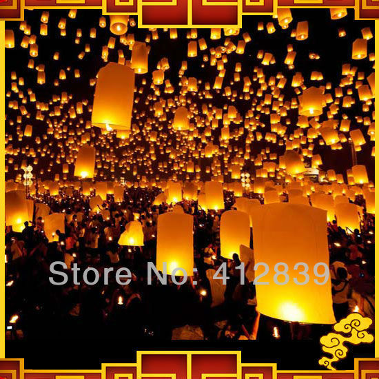 15pcs/Lot Mix Color Sky Lanterns, KongMing Lanterns,Chinese Lanterns for wedding Oval Shape 8 Colors