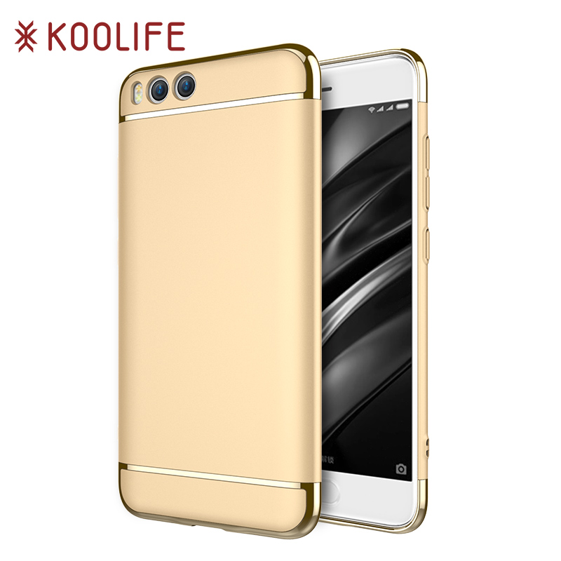 For Xiaomi Mi 6 Case Koolife Luxury Anti-Knock Smooth Hard Plastic Protective Phone Case Cover for Xiaomi Mi6 (5.15 inch)