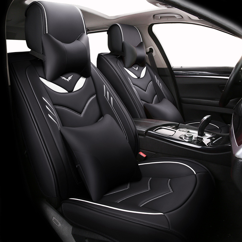 Front Rear Special Leather car seat covers For Mitsubishi outlander asx Nissan Tiida Juke qashqai