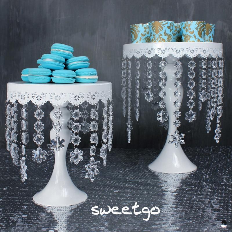 SWEETGO Toy kristal asqıları tort stəkanlı stəkan tort üçün - Mətbəx, yemək otağı və barı - Fotoqrafiya 5