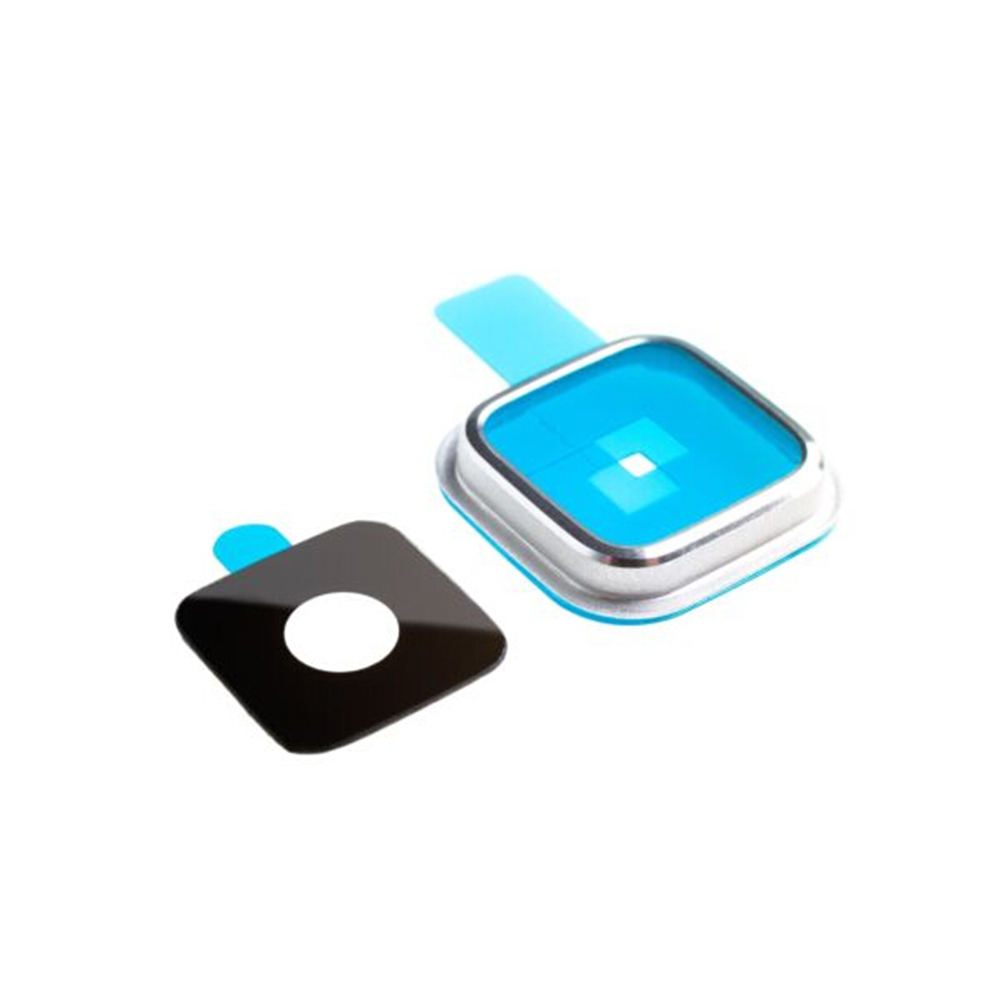 For Samsung Galaxy S5 i9600 G900 G9005 Camera Glass Lens Ring Cover Replacement