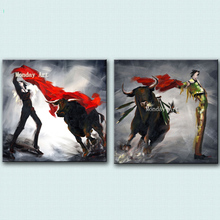 New Design Spanish bullfighting Oil Paintings Handmade Modern Landscape On Canvas bullfighter picture Home Decoration