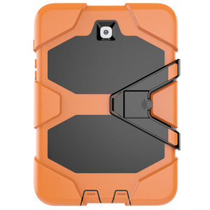 Image 4 - Amor ヘビーデューティケース三星銀河タブ 9.7 SM T555 T550 T551 T555 P555 P550 タブレットケースソフトシリコン + Pc 背面カバー