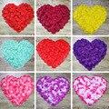 Hojas De Boda Decoraciones de Seda Pétalos de rosa 2017 2000 Unids/lote Tabla Confetti Party Festival Decoración 16 colores Pétalo de la Flor