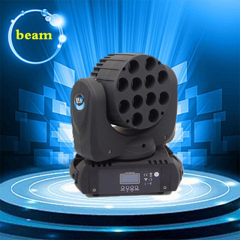 2017 HOT 12X12W Spot moving head light led moving head Beam stage lighting disco light Professional Stage DJ DMX wash Light