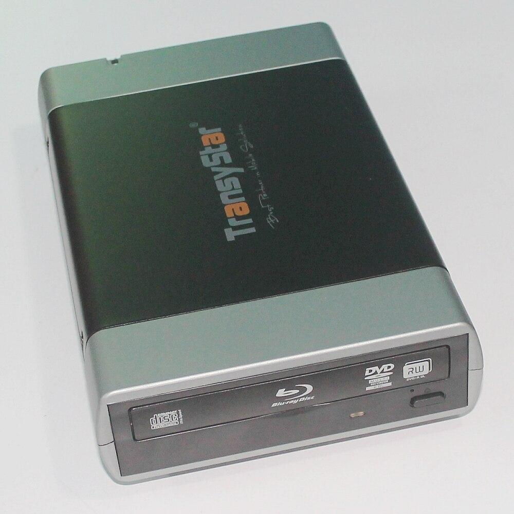 Alliage Portable USB 3.0 Et ESATA VERS SATA externe Case Boîtier Pour 5.25 CD DVD ROM Brûleur Écrivain BD DVD CD boîte Cas