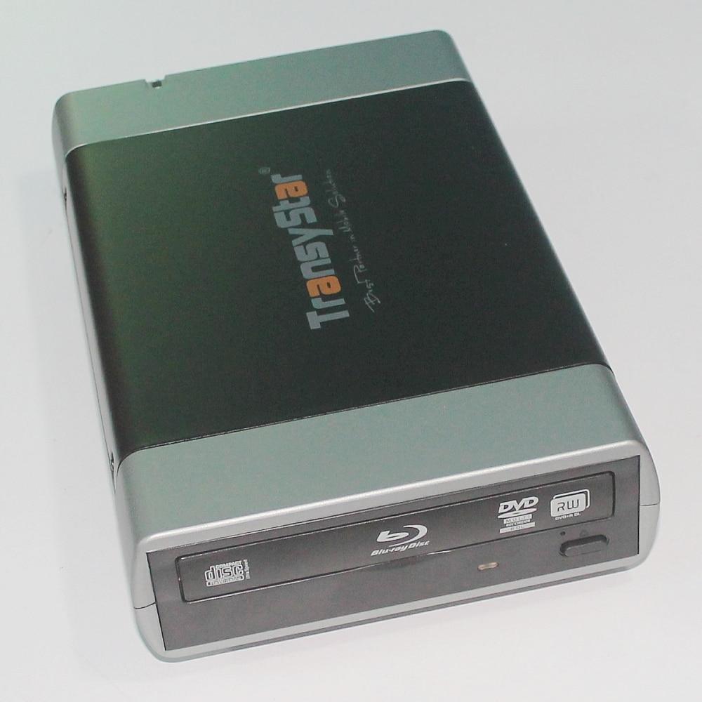 External Alloy Portable USB 3.0 And ESATA to SATA Enclosure Case For 5.25