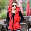 Cheap wholesale 2017 Spring Hot selling fashionable casual women's thickening down cotton Jacket winter warm outerwear Vest