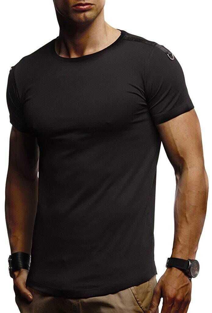 2019 新 Tシャツ男性スリムフィットソリッドカラーフィットカジュアルトップス綿快適な高品質プラスサイズ-ホワイト、黒、アーミーグリーン