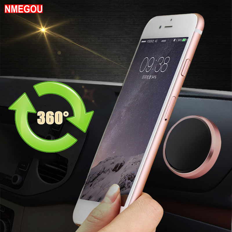 Magnetic Car-styling Mobile Phone Holder Car Navigator Dashboard Auto Magnet Smartphone Stickers Stand for IPhone Samsung Xiaomi smartphone