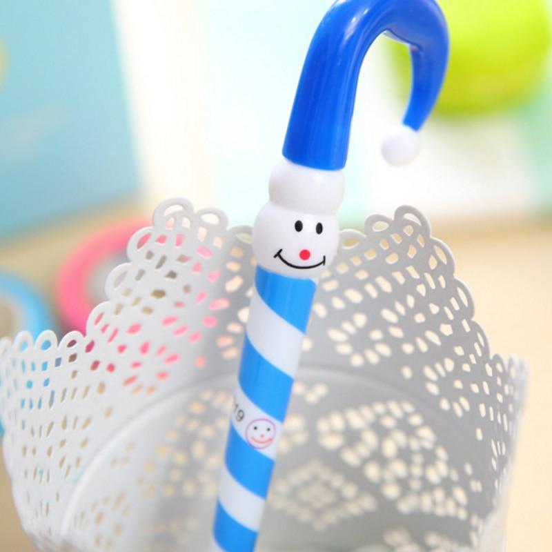 30 pçslote Adorável Umbrella Caneta Esferográfica Engraçado