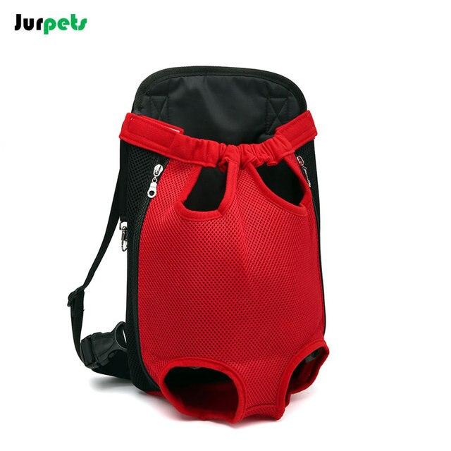 Popular Travel Pet Carriers Dog Backpack Portable Puppy Carrier Bag Pet Front Chest Bag Breathable Shoulder Dog Bag Canvas