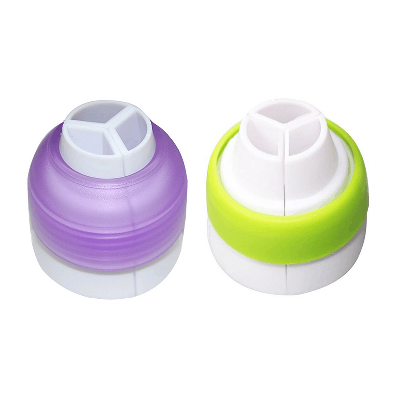 Cake Decorating Nozzle Set : ?2pcs/set Big Size nozzle coupler ? Icing Icing Piping ...