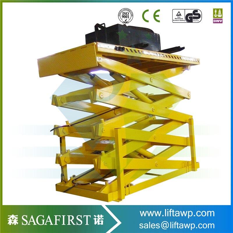 Customized Heavy Duty Scissor Lift Platform Hydraulic Car Lift