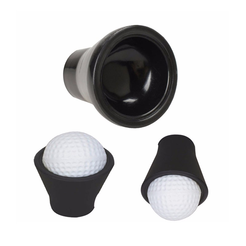 Lightweight Plastic Golf Tee Ball Pick Up Suction Cup Picker For Caddy Sucker Retriever Putter Grip