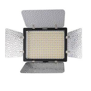 Image 3 - YONGNUO YN300III YN300 III YN 300III 3200k 5500K CRI95 foto de cámara luz LED para vídeo opcional con adaptador de corriente AC + KIT de batería