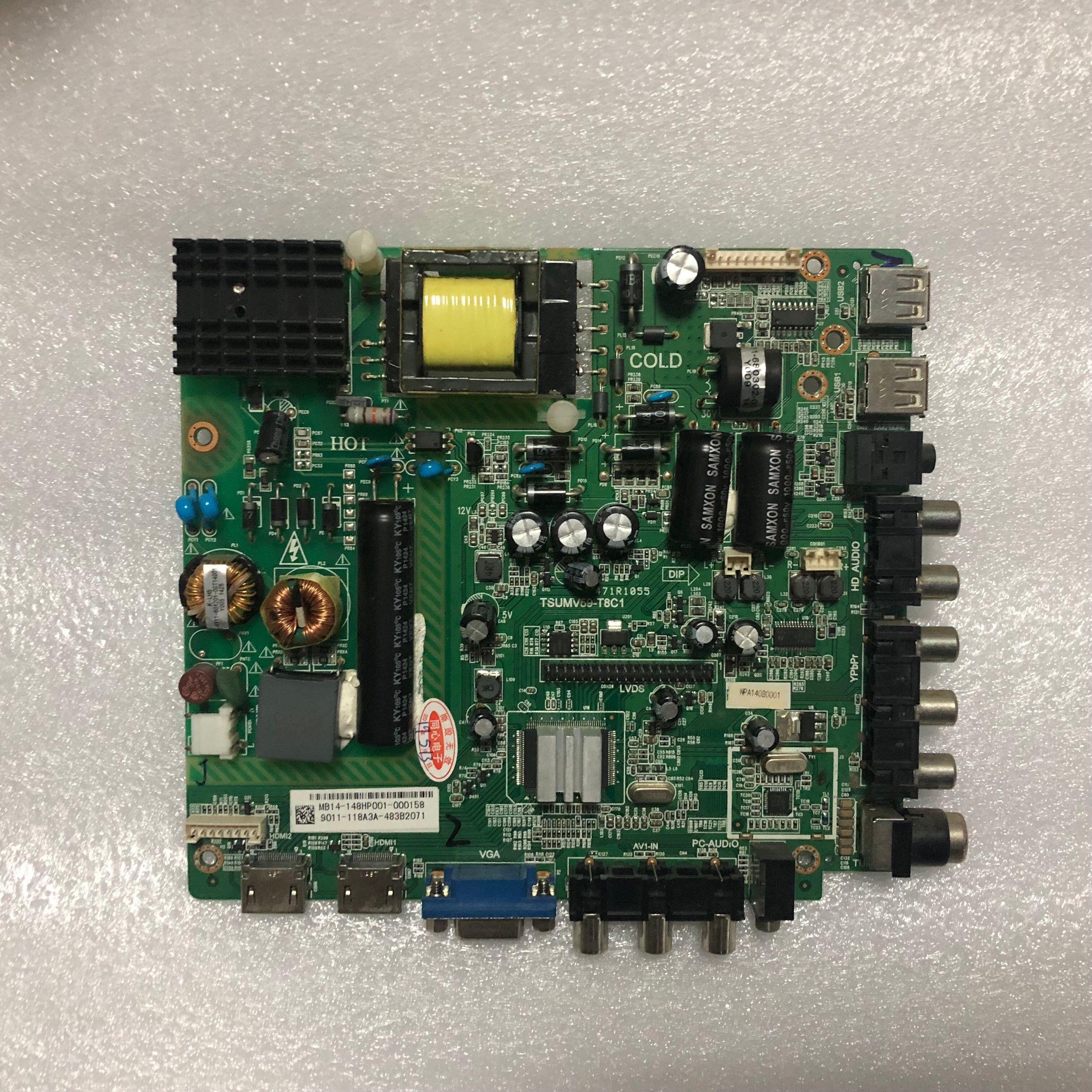 SZYLIJ Original 39PFL3041 T3 mainboard TSUMV59 T8C1 4715 MV59T8 A3233K01 for 39inch