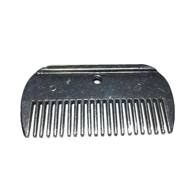 Aluminum Currycomb 10cm Comb For Pet Horse