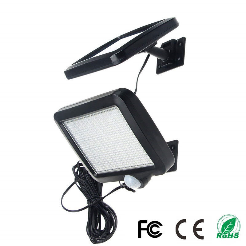 Solar Light 56 LED Waterproof IP65 PIR Motion Sensor Wall Light Outdoor Parks Garden Security Emergency Street Solar Garden Lamp