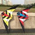 Alta Qualidade 1.8 m/70 polegadas Dual Linha Rainbow Delta Stunt Kite Poder Kite Com Ferramentas Vôo Do Esporte Ao Ar Livre praia e da Praça