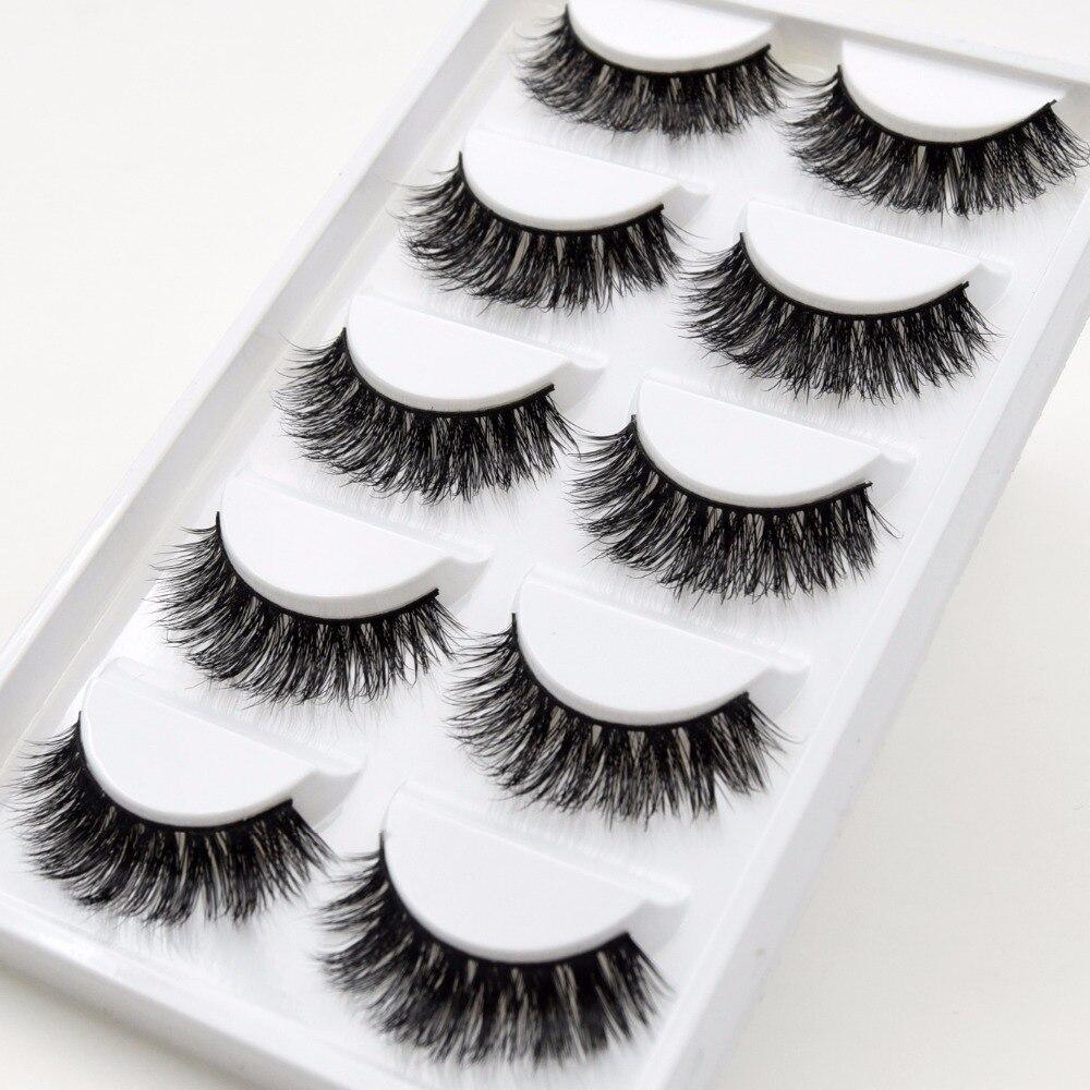 449b066515a 5 Pairs/Pack Visofree Eyelashes Fur Friendly Styles Mink Lashes ...