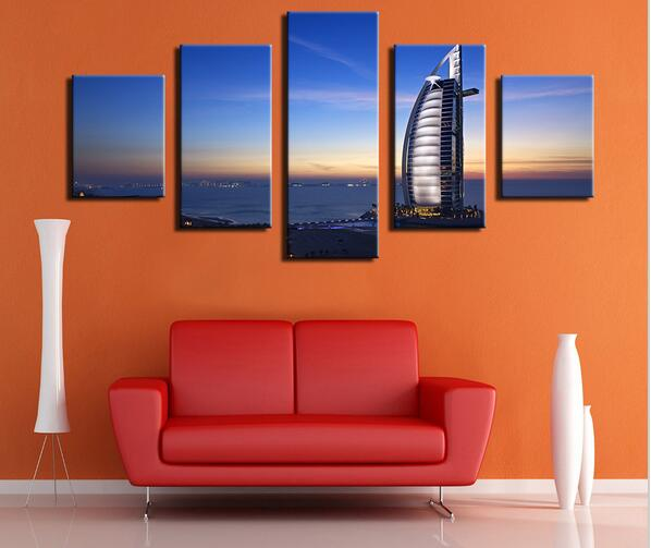 5 panel burj al arab hotel dubai uae travel booking pool for Modern home decor dubai