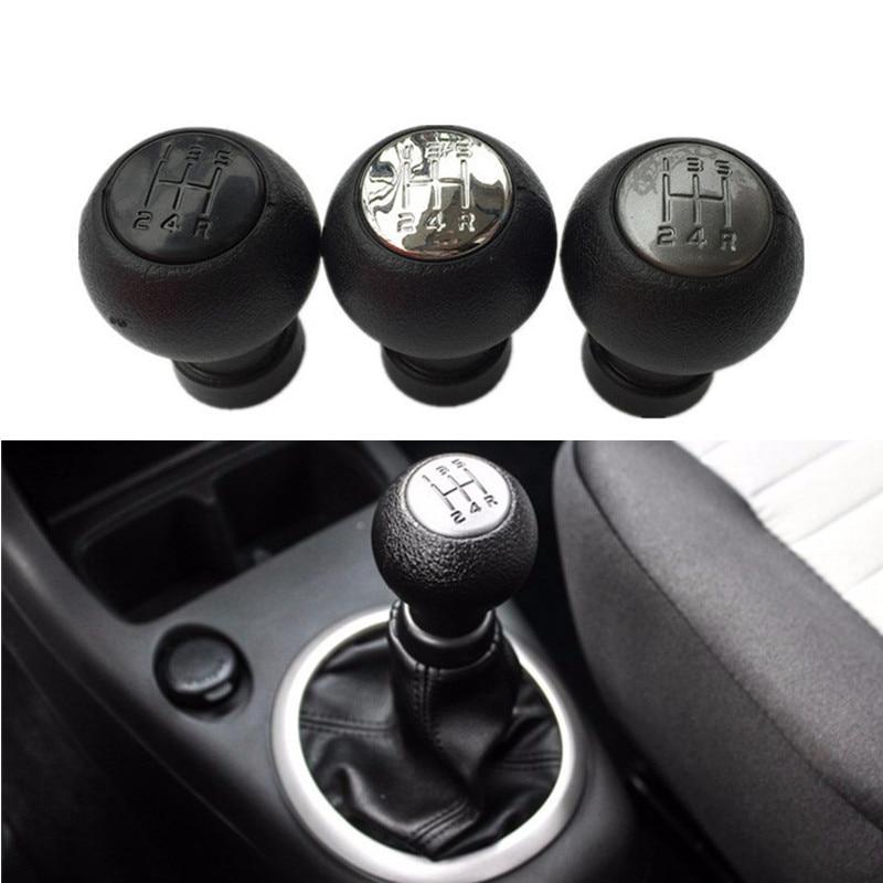 Gear Shift Knob 5 Speed Car Gear Shift Shifter Knob Stick Head For SX4 2005-2010